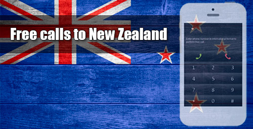 Free calls to New Zealand through iEvaPhone