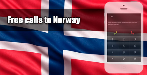 Free calls to Norway through iEvaPhone