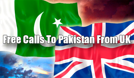 Free calls to Pakistan from UK through iEvaPhone