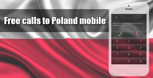 Free calls to Poland mobile on iEvaPhone