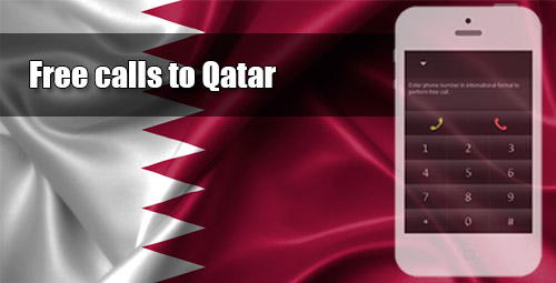 Free calls to Qatar through iEvaPhone
