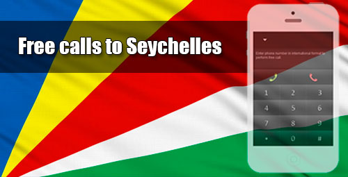 Free calls to Seychelles through iEvaPhone