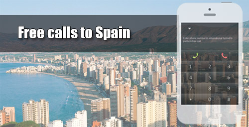 Free calls to Spain through iEvaPhone