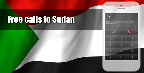 Free calls to Sudan through iEvaPhone