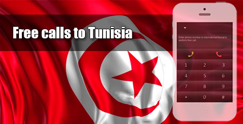 Free calls to Tunisia through iEvaPhone