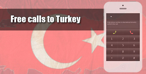 Free calls to Turkey through iEvaPhone