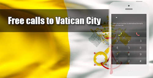 Free calls to Vatican City through iEvaPhone