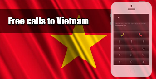 Free calls to Vietnam through iEvaPhone