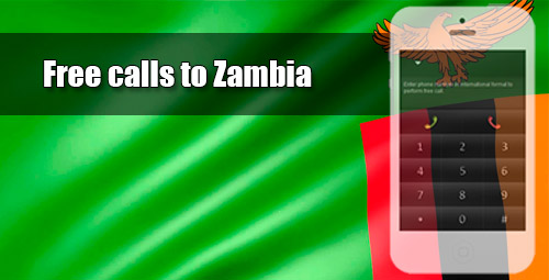 Free calls to Zambia through iEvaPhone