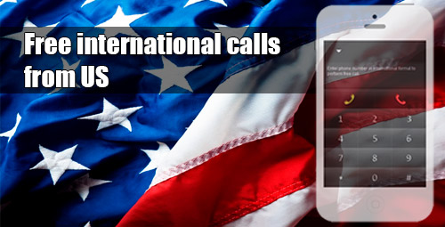 Free international calls from US through iEvaPhone