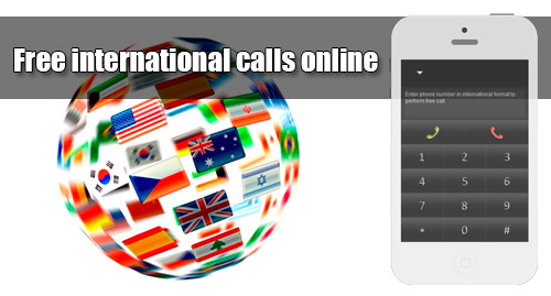 Free international calls online on iEvaPhone
