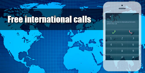 Free international calls through iEvaPhone