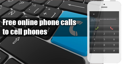 Free online phone calls to cell phones through iEvaPhone