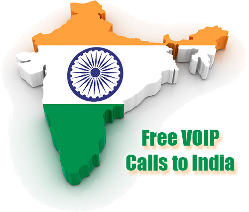 Free VOIP calls to India through iEvaPhone
