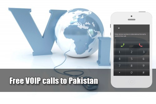 Free VOIP calls to Pakistan through iEvaPhone