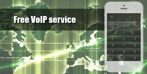 Free VoIP service - iEvaPhone