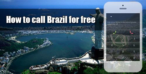 How to call Brazil for free through iEvaPhone