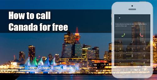 How to call Canada for free through iEvaPhone