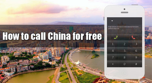 How to call China for free through iEvaPhone