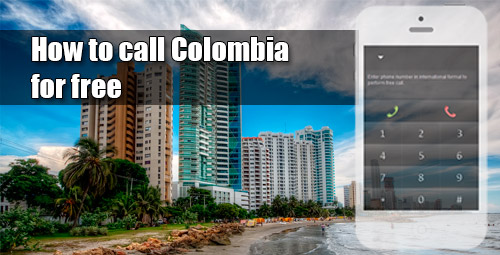 How to call Colombia for free through iEvaPhone