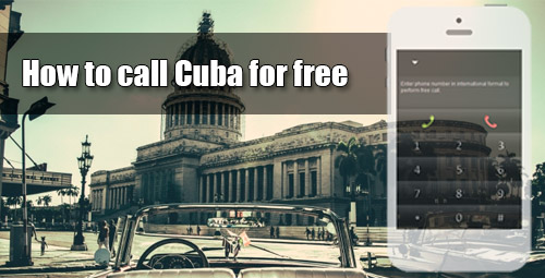 How to call Cuba for free through iEvaPhone