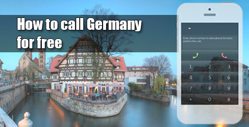 How to call Germany for free through iEvaPhone