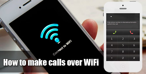 How to make calls over WiFi using iEvaphone