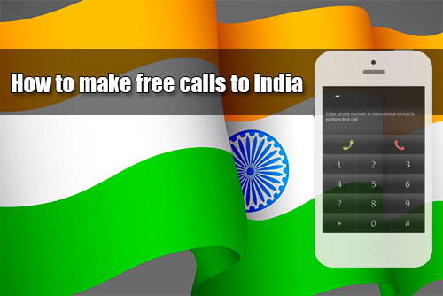 How to make free calls to India through iEvaPhone