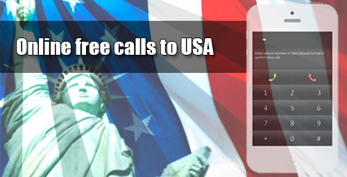 Online free calls to USA on iEvaPhone